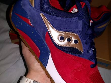 Saucony Grid 9000 Sparring With Saucony Sneaks - photo 1/8