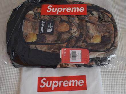 [SHIPPING 24H] Supreme X The North Face Pocono Backpack Leaves/black FW16 - photo 1/3