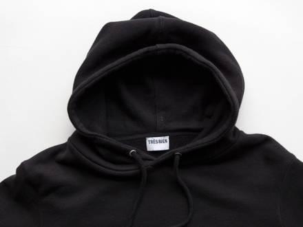 Trés Bien Merch Hoodie Black Size M Medium - photo 1/3
