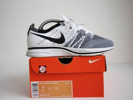 reputable site 63d90 27676 sale image is loading nike flyknit trainer cirrus blue black white size  9709a f5d9d  discount strongnike strong 3a24a f5bc7