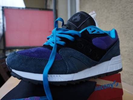 <strong>SAUCONY</strong> SHADOW MASTER HANON THE MIDNIGHT RUNNER - US10 - WORN - 2015 - photo 1/4