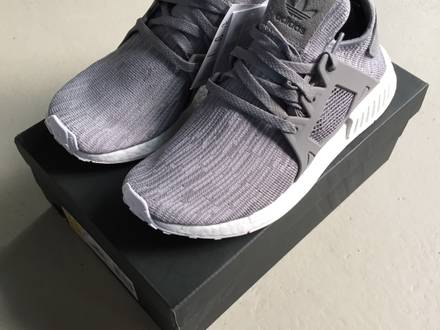 <strong>NMD</strong> <strong>XR1</strong> PK W NOMAD PRIMEKNIT WOMAN GRAU - NEW - UNWORN - 100% ORIGINAL! - photo 1/8