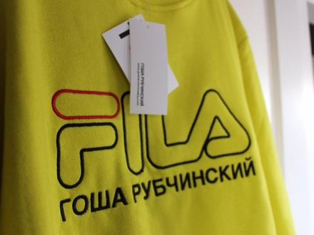 GOSHA RUBCHINSKIY X FILA SS17 LOGO SWEATER - photo 1/3