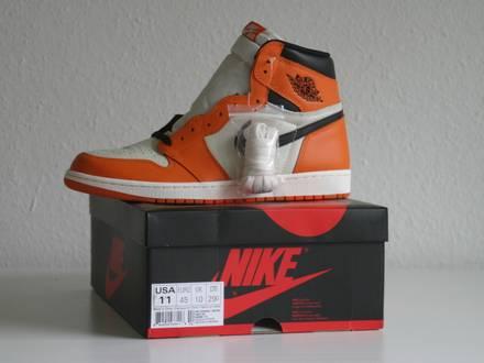 "Nike Air Jordan 1 ""Shattered Backboard"" US 11 - photo 1/3"