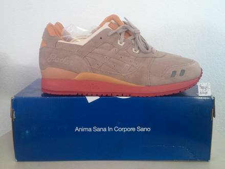 Asics Gel Lyte III 3 Packer Taupe - US12 - DeadStock with OG Box and Extra Laces - photo 1/6