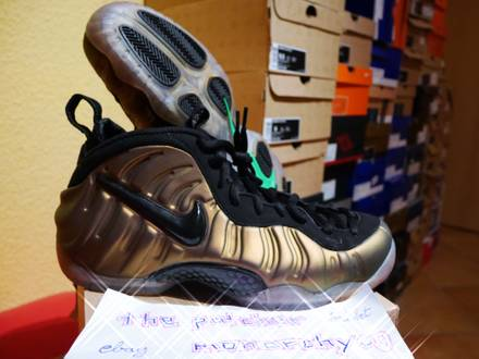 "Nike Air Foamposite Pro ""Gym Green"" 2012 Release US 9.5 EU 43 - photo 1/5"