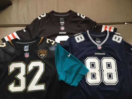 NFL Jerseys ( Cowboys, Browns, Jags) - photo 1/4
