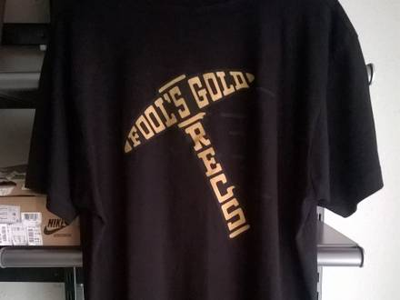 FOOL's GOLD KANYE WEST YEEZY ATRAK Goldigger - photo 1/3