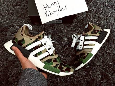 Adidas NMD R1 X Bape <strong>A</strong> <strong>bathing</strong> <strong>Ape</strong> - photo 1/3