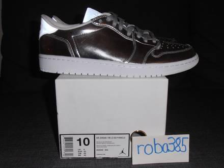 Nike Air Jordan 1 RE Lo Low OG P1nnacle Pinnacle NS metallic silver - US 10 UK 9 - photo 1/8