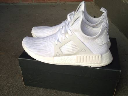 <strong>Adidas</strong> <strong>NMD</strong> <strong>XR1</strong> Primeknit Triple White - photo 1/6