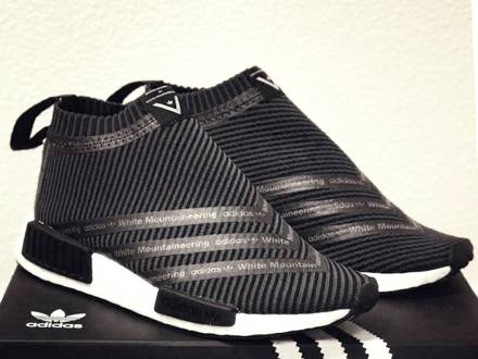 """[SHIPPING 24H] Adidas NMD City Sock WM NMD x """"White Mountaineering"""" US8 and US9 / S80529 - photo 1/3"""