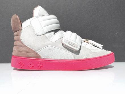 Louis Vuitton LV Kanye West Jasper Sneaker Authenicated by Chronicled Sz 8.5 - 9 - photo 3/8