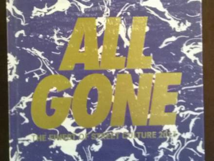ALL GONE BOOK 2013 PURPLE COVER LTD EDITION 1000 COPIE - photo 1/3