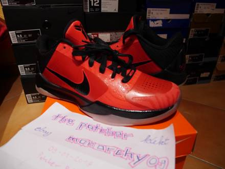 "Nike Zoom Kobe V 5 Allstar Game ""West"" US 9 EU 42.5 DS Mamba - photo 1/6"