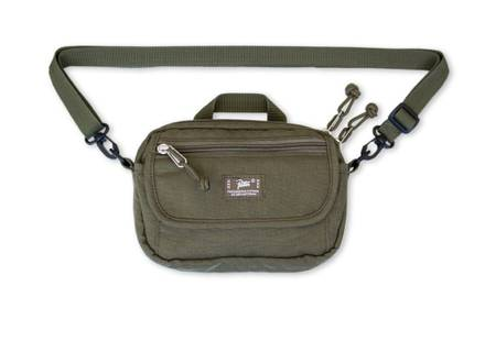 Patta Cross Body Bag (Olive) - photo 1/8