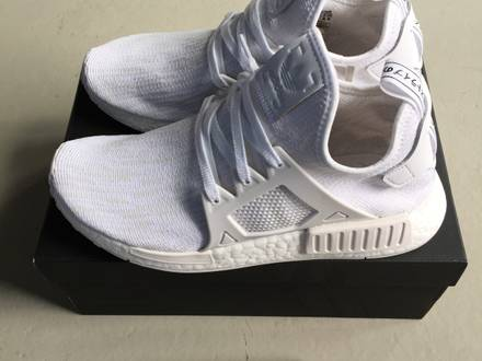 <strong>NMD</strong> <strong>XR1</strong> PK NOMAD PRIMEKNIT RUNNER WHITE - NEW UNWORN 100% ORIGINAL! - photo 1/8