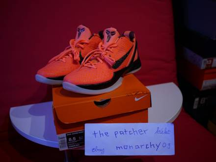 Nike Zoom Kobe VI 6 Barcelona Mangos DS US 8.5 EU 42 unworn 2011 Promo Release - photo 1/8