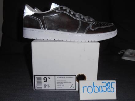 Nike Air Jordan 1 RE Lo Low OG P1nnacle Pinnacle NS metallic silver - US 9.5 - photo 1/8