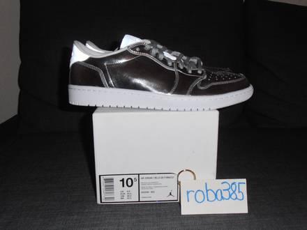 Nike Air Jordan 1 RE Lo Low OG P1nnacle Pinnacle NS metallic silver - US 10.5 - photo 1/8