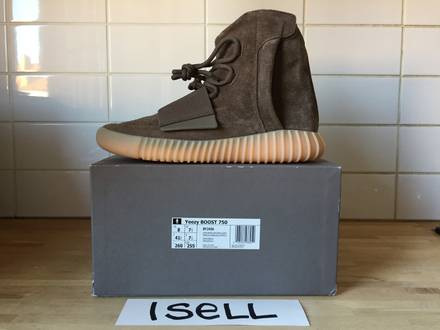 Adidas Yeezy Boost 750 Chocolate - photo 1/6