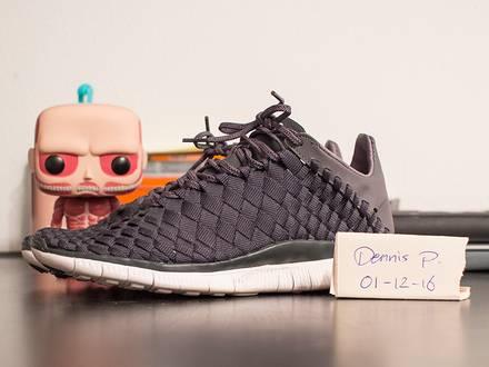 """Nike Free Inneva Woven """"Anthracite"""" - photo 1/4"""