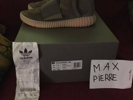Adidas Yeezy Boost 750 Chocolat / Gum - photo 1/5