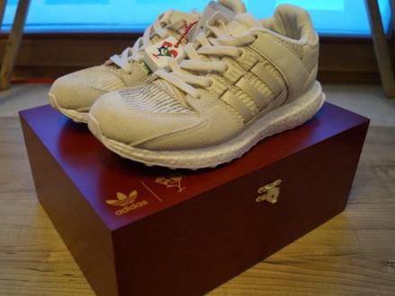 Adidas EQT SUPPORT ULTRA CNY Rare U.K. 11.5 Boost - photo 1/4