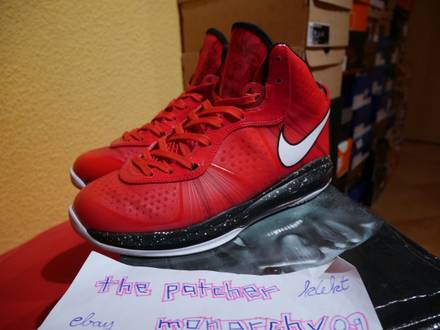Nike Air Max Lebron VIII 8 v2 Xmas 2010 Release US 9.5 EU 43 - photo 1/6