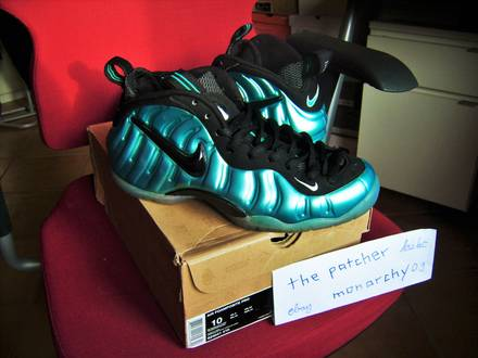 "Nike Air Foamposite Pro ""Electric Blue"" 2011 Release US 10 EU 44 PADS - photo 1/5"