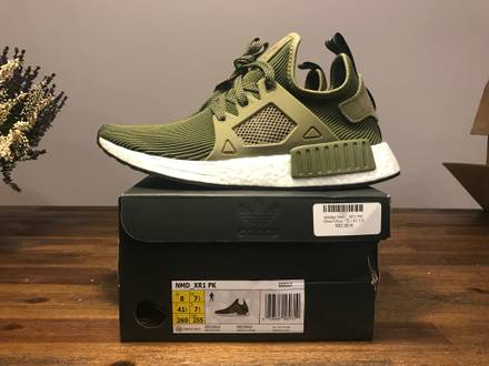 <strong>Adidas</strong> <strong>NMD</strong> <strong>XR1</strong> PK Olive Green EU 41 1/3 US8 Boost*no yeezy ultra kith mastermind - photo 1/8