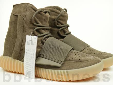 Adidas Yeezy Boost 750 BY2456 LIGHT BROWN US 8 UK 7.5 EU 41 1/3 - photo 1/6