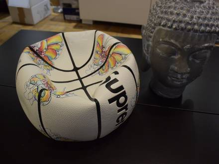 SUPREME X Spalding X Gonz Butterfly - Deadstock Basketball limited - photo 1/5