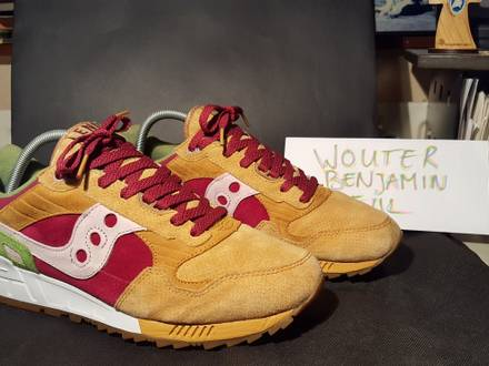 """<strong>Saucony</strong> x End """" Burger"""" US11 OG all - photo 1/7"""