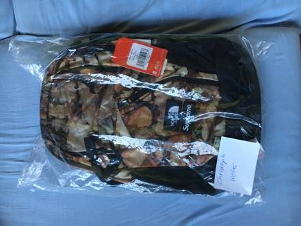 Supreme x North Face F/W 16 - Pocono Leaves Backpack - photo 1/5