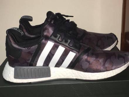 Adidas x Bape NMD R1 (Black Camo) - photo 1/7