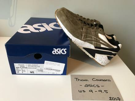 "Monkey Time x Asics Gel-Sight ""Olive Crown"" US 9 DS - photo 1/5"