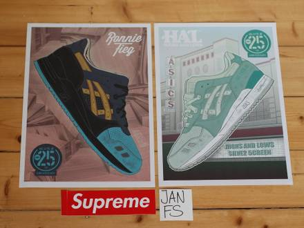 Asics 25 th anniversary collabos poster for trade - photo 1/3