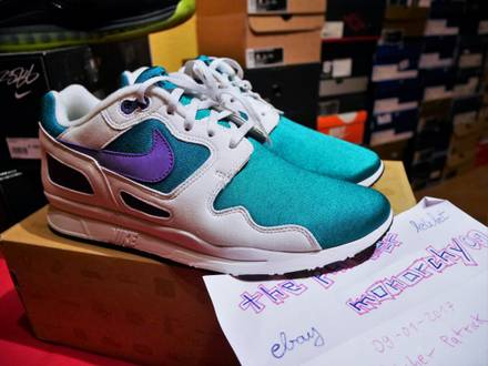 Nike Air Flow lush Teal TZ US 9 EU 42.5 DS BNIB new htm tier ze qs - photo 1/6