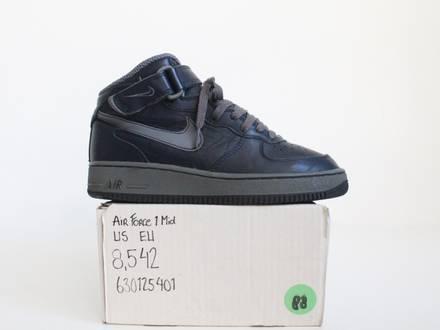 Nike Air Force 1 Mid 'Obisidian' - photo 1/4