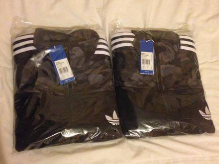 Adidas Oiriginals Bape Firebird Black jacket size M & L tracktop supreme patta box logo the north fa - photo 1/3