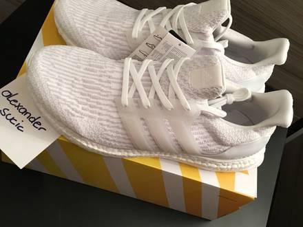 Brand New Adidas Ultra Boost 3.0 BA 8841 Primeknit White