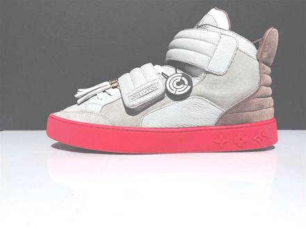 Louis Vuitton LV Kanye West Jasper Sneaker Authenicated by Chronicled Sz 8.5 - 9 - photo 1/8