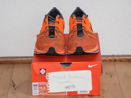 "Nike Flyknit Trainer+ ""Total Orange"" - photo 1/8"