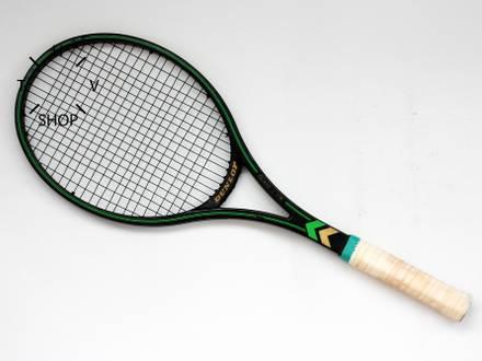 Vintage 80s Dunlop MAX 200G graphite tennis racket racquet John McEnroe Steffi Graf Made in UK Engla - photo 1/8