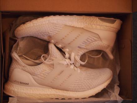 <strong>Ultra</strong> <strong>Boost</strong> 3.0 <strong>Triple</strong> <strong>White</strong> - photo 1/3