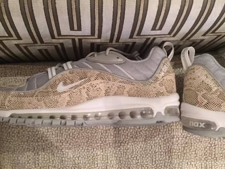 <strong>NIKE</strong> <strong>AIR</strong> <strong>MAX</strong> <strong>98</strong> <strong>x</strong> <strong>SUPREME</strong> <strong>SNAKESKIN</strong> - photo 1/5