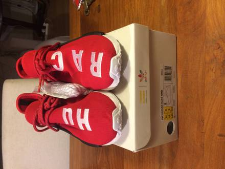 NMD Human Race Red 8.5US - photo 1/8