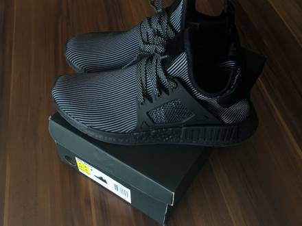 Adidas NMD XR1 Primeknit Triple Black US9 - photo 1/8