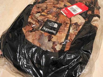 SUPREME X THE NORTH FACE SS16 POCONO LEAF BACKPACK - photo 1/3